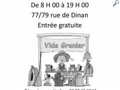 photo de Vide grenier hameau de colivan Saint Meen le Grand